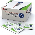 Sterile Alcohol Prep pads box of 200