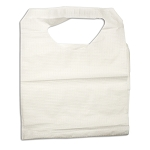 Adult PolyEthylene Lap Bibs - Lap Cloths 16 X 33  300