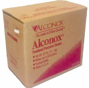 Alconox Detergent Cleaning Concentrate 25 pound box