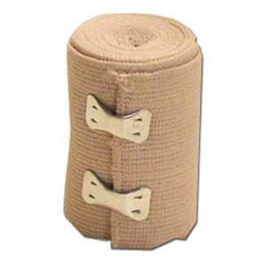 "Elastic ""ACE"" bandages 4""X 4.5 yd - Latex Free 10 Rolls"