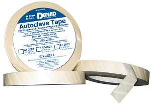 "DEFEND 3/4"" x 60 yds Autoclave Sterilization Indicator Tape"